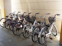 無料サービス/自転車無料貸出!
