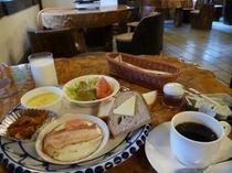南ヶ丘牧場朝食