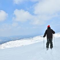 【冬の旭岳】最高の雪質♪