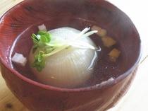 玉葱スープ