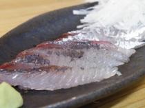 飛び魚のお刺身