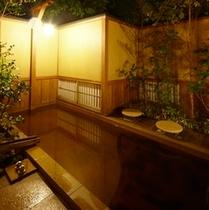貴賓室「千条」露天風呂