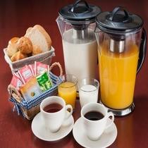 ご朝食 ドリンク一例