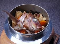 料理 鯛の釜飯