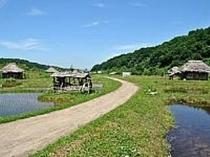 エリア庄内映画村オープンセット農村