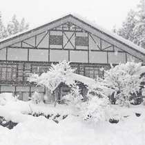 【冬の外観】