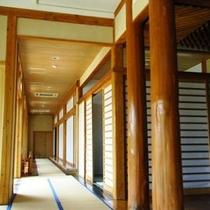 【館内】別館の廊下