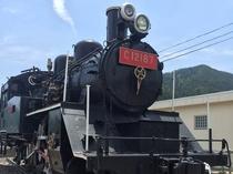常陸大子駅前(SL列車)