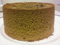手作りミルクティーシフォンケーキ