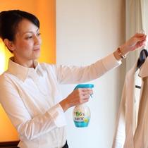 ■ビジネスイメージ■ 全室にリセッシュ(衣類用消臭スプレー)完備