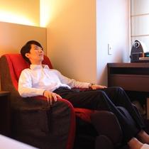 ■家具調マッサージチェア■ スペシャルルームKUTSUROGI と HIBIKI に設置しています