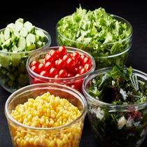 ◆サラダのトッピングも数種類ご用意しております!