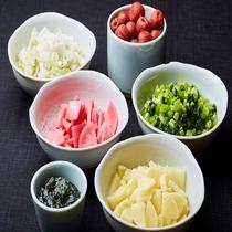 ◆ご飯がついついすすむお漬物