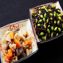 ◆季節の煮物をご用意しています♪ 筑前煮 ひじき