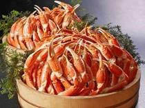 【夕食バイキング】蟹三昧