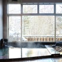 ≪雪見風呂≫