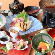 □松茸すき焼き