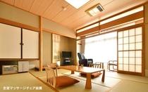 【和室8畳タイプ2階】(8畳広縁付+マッサージチェア完備)