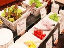 シャキシャキ野菜で朝のビタミン補給