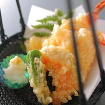 【春】旬の食材を使用した天ぷら