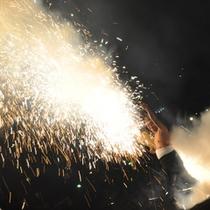 【夏イベント】箸祭り・手筒花火