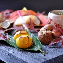 【ご夕食】秋 一例
