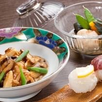 【旬の食材】料理長 池田和彦の腕が光るお料理の数々