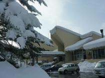 外観 雪景色