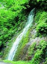 真木渓谷にある滝