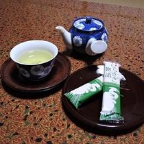 *【部屋/お茶セット】お出かけから帰ってきたあとはお茶でホッとひといき。