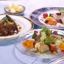 フレンチレストラン【ラピスラズリ】 信州産の食材をふんだんに