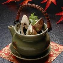 ◆松茸プラン どびん蒸しの一例