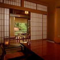 【露天風呂付客室(10〜12畳)】 一例