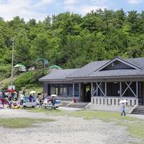 青海島キャンプ村(湯本温泉から車で25分)