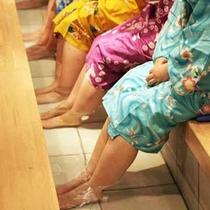 ■足湯カフェ「ちょっと休足湯」