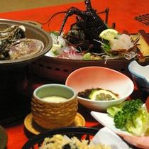 ■夕食例■