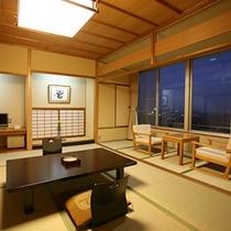 富士見台/和室(讃岐平野側) 一例