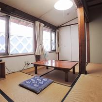 *客室/和室8畳のお部屋。