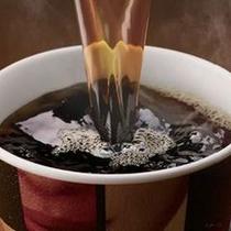 フロントにて無料コーヒーご用意しています!