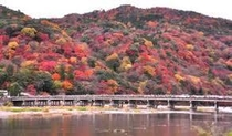 嵐山の風景 秋