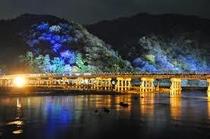 嵐山の花灯路 渡月橋