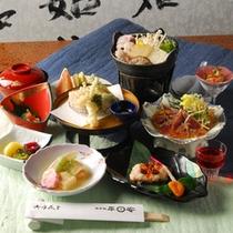 *【夕食(お食事全体)】