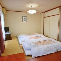 *【和室8畳】4名まで宿泊OK!和室ならではの温かみがあります。