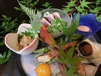 【前菜】 季節の前菜一例