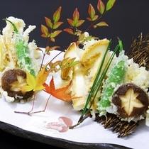 【別注料理】松茸入り天ぷら(秋季)