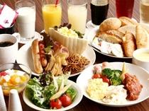 朝食バイキング