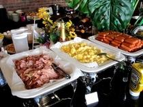 ■朝食:レストランは相模湾を一望!爽やかな一日のスタートは朝食から♪