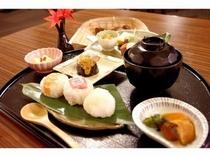 ■夕食:和懐石メニュー一例