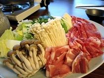 ■夕食:新鮮な食材を召しあがり下さい