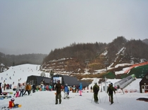 川場スキー場ゲレンデ